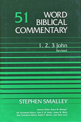 1-3 John, Revised: Word Biblical Commentary [WBC]   -     By: Stephen S. Smalley