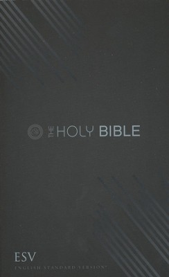ESV Outreach Bible, Graphite Design  -