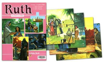 Ruth Flash-a-Card Set (for use with Giants of Faith Middler Grades 3-4 Sunday School Curriculum)  -