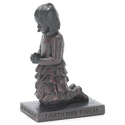 Young Girl, Prayer Figurine                                -