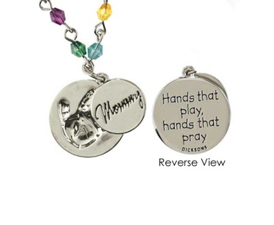 Mommy, Hands That Play Bracelet  -