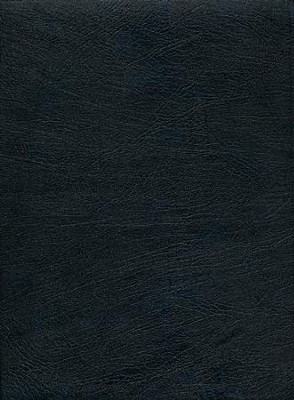 KJV Thompson Chain-Reference Bible, Large Print, Black  Genuine Leather, Capri Grain  -