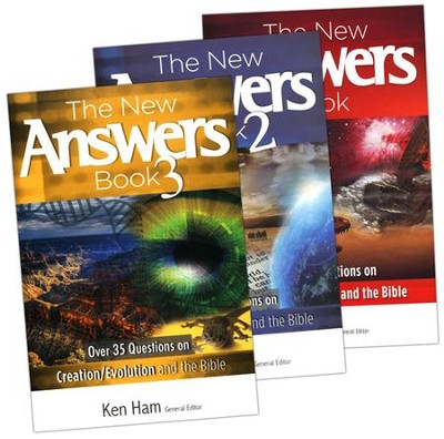 The New Answers Book Series, 3 Volumes   -     By: Ken Ham