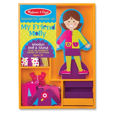 My Friend Molly, Magnetic Dress Up  -