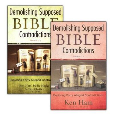 Demolishing Supposed Bible Contradictions, 2 Volumes   -     By: Ken Ham