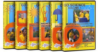 Go Science Complete Collection 6 DVDs  -     By: Ben Roy