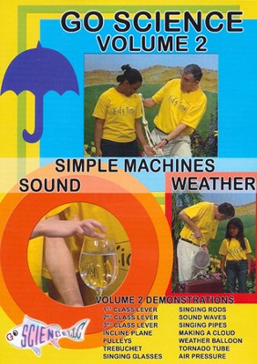 Simple Machines, Sound & Weather DVD  -     By: Ben Roy