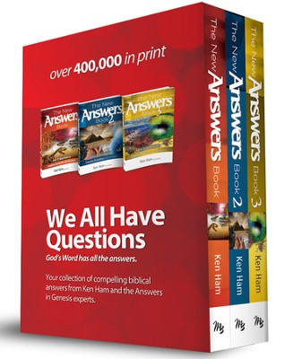 The New Answers Book Boxed Set, Volumes 1-3  -     By: Ken Ham