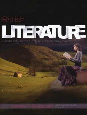 British Literature: Cultural Influences of Early to Contemporary Voices, Student Book  -     By: James Stobaugh