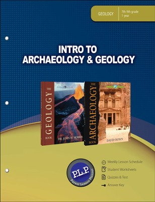 Intro to Archaeology & Geology Parent Lesson Plan The Wonders of Creation Series  -
