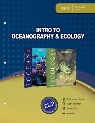 Intro to Oceanography & Ecology Parent Lesson Plan The Wonders of Creation Series  -