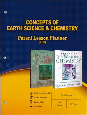 Concepts of Earth Science & Chemistry Parent Lesson Plan  -