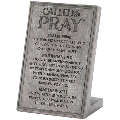 Called To Pray Plaque  -