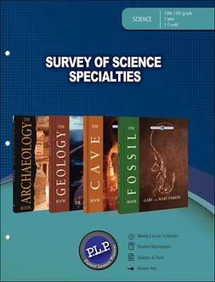 Survey of Science Specialties Lesson Plan, The Wonders of Creation Series    -
