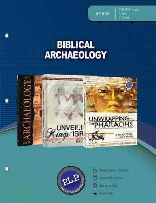 Biblical Archaeology Parent Lesson Plan  -