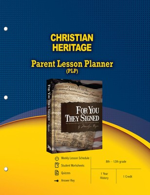 Christian Heritage Teacher Guide   -