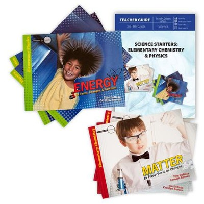 Science Starters: Elementary Chemistry & Physics Pack, 7 Volumes  -     By: Tom DeRosa, Carolyn Reeves