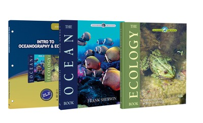 Intro to Oceanography & Ecology Pack, 3 Volumes The Wonders of Creation Series  -