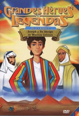Jos&#233 y su Abrigo, Grandes H&#233roes y Leyendas de la Biblia  (Joseph, Great Heroes and Legends of the Bible), DVD    -
