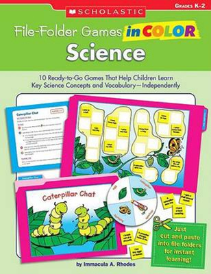 File-Folder Games in Color: Science  -     By: Immacula Rhodes