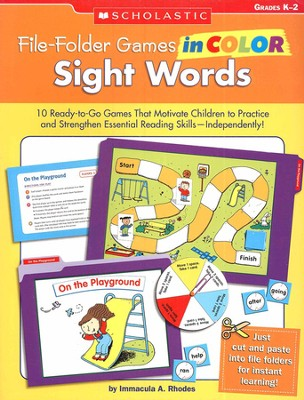 File-Folder Games in Color: Sight Words  -     By: Immacula Rhodes