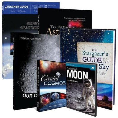 Survey of Astronomy Pack, 4 books & 2 DVDs  -