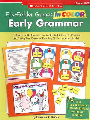 File-Folder Games in Color: Early Grammar  -     By: Immacula Rhodes