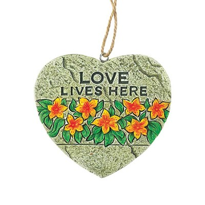 Love Lives Here Plaque  -