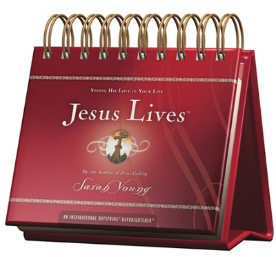 Jesus Lives Daybrightener  -     By: Sarah Young