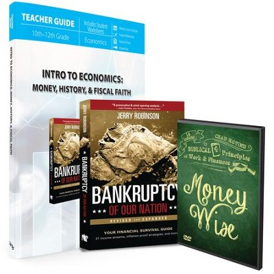 Intro to Economics: Money, History, & Fiscal Faith Pack, 3 Volumes  -