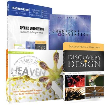 Applied Science: Studies in God's Design in Nature Pack, 4 Volumes  -