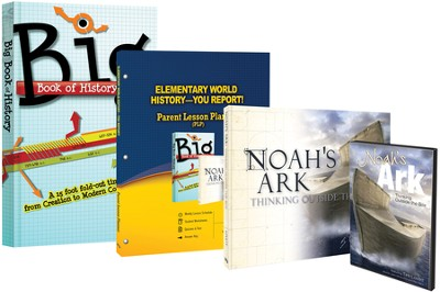 You Report! Elementary World History, 3 Volumes with DVD  -