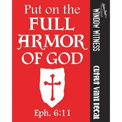 Full Armor of God Auto Decal  -