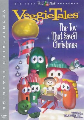 The Toy That Saved Christmas, VeggieTales DVD   -