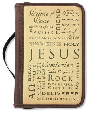 Inspiration Names of Jesus Cover, Large  -     By: Zondervan
