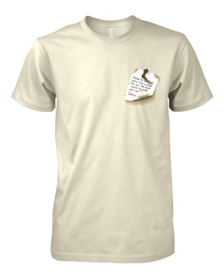 Gone to See Dad Shirt, Natural, 3X-Large   -