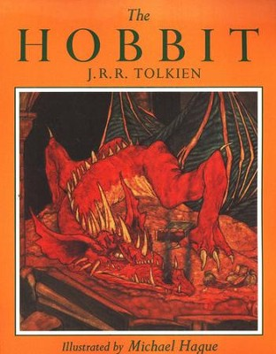 The Hobbit: Illustrated by Michael Hague,Softcover   -     By: J.R.R. Tolkien