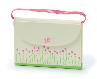 NIrV, My Little Purse Bible, Leather-Look, Cream  -