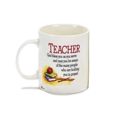 Teacher, God Bless You As You Serve Mug  -