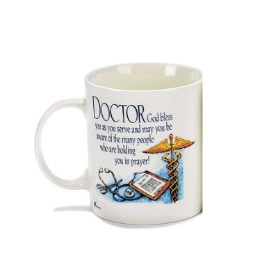 Doctor, God Bless You As You Serve Mug  -