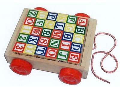 Classic ABC Cart   -     By: Melissa & Doug