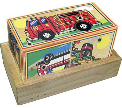 Wooden Vehicle Sound Blocks   -     By: Melissa & Doug
