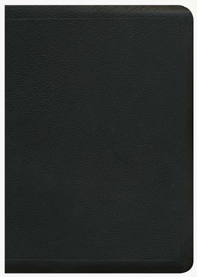 ESV MacArthur Study Bible, Premium Calfskin Leather, Black - Slightly Imperfect  -