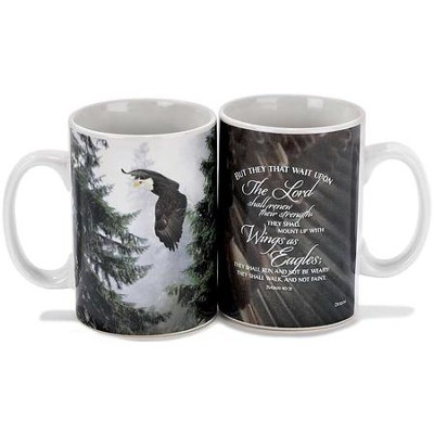 Wings As Eagles Mug  -