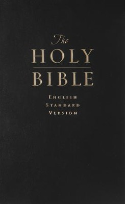 The ESV Value Pew Bible, Black   -