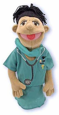 Surgeon, Hand Puppet   -     By: Melissa & Doug