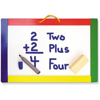 Magnetic Chalk/Dry Erase Board   -     By: Melissa & Doug