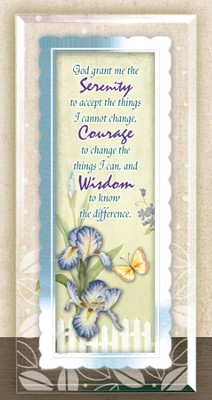 Serenity Prayer Framed Sentiment  -
