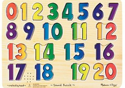 Numbers Sound Puzzle  -     By: Melissa & Doug