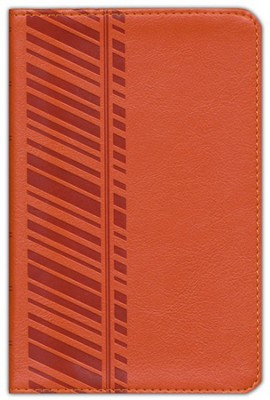 ESV Compact Bible, TruTone, Orange, Track Design   -